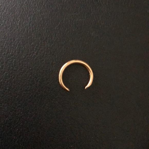 Jewelry Septum Ring 18k Gold Poshmark